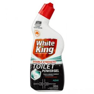 White King Ultra Strength Toilet Cleaner Gel Aqua Fresh