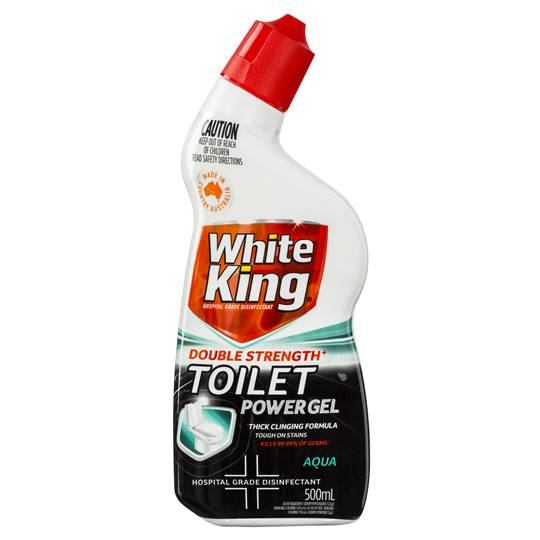 White King Ultra Strength Toilet Cleaner Gel Aqua Fresh