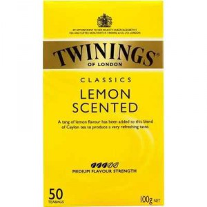 Twinings Lemon Scented Tea Bags