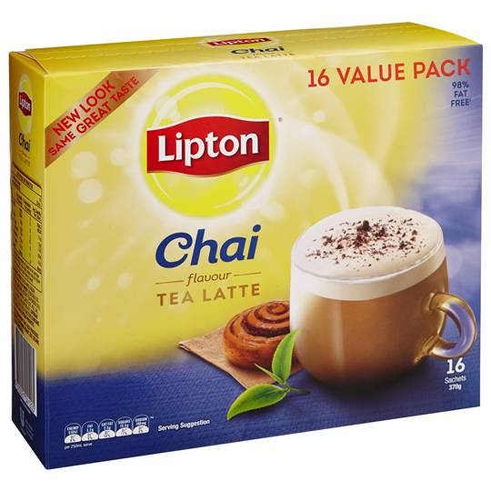 Lipton Instant Tea Chai Latte Regular