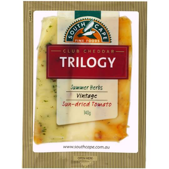 South Cape Trilogy Herb Sundried Vintage Cheddar Cheese