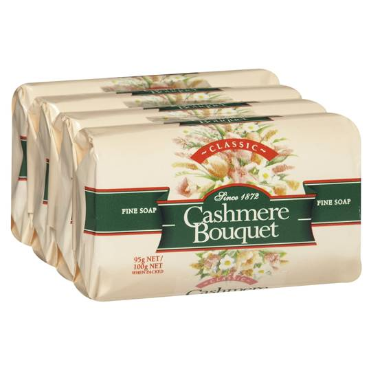 Cashmere Bouquet Soap Bar Classic