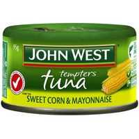 John West Tuna Sweet Corn & Mayonnaise