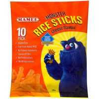 Mamee Rice Snacks Sticks Cheese Flavour