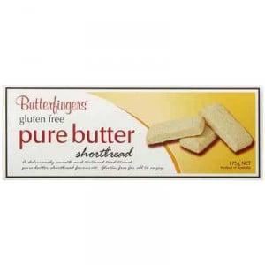Butterfingers Gluten Free Shortbread Pure Butter