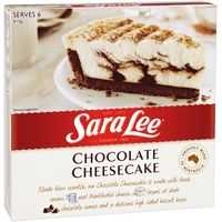 Sara Lee Cheese Cake Chocolate