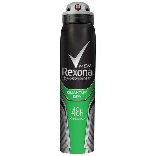 Rexona Men Antiperspirant Deodorant Spray Quantum