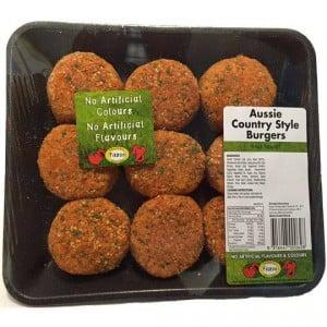 Fiztco Aussie Country Beef Rissoles