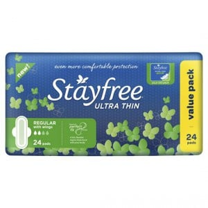 Stayfree Pads Ultra Thin Regular Wings