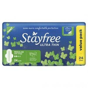 Stayfree Pads Ultra Thin Regular Wings