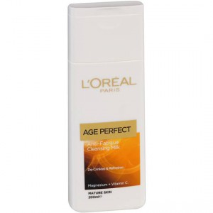 L'oreal Facial Cleanser De Age Perfect Cleansing Milk