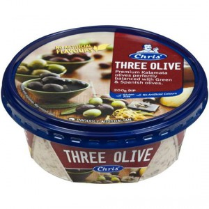 Chris' Dips Three Olive