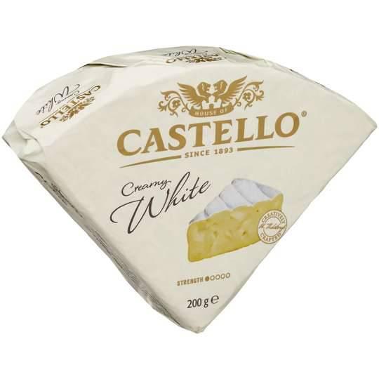 Castello White Cheese Wedges