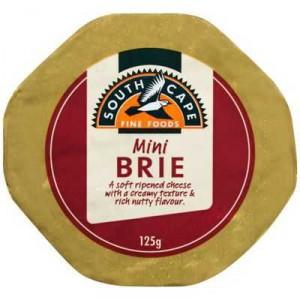 South Cape Mini Brie Cheese Wheel