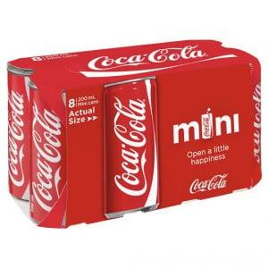 Coca Cola Mini Can