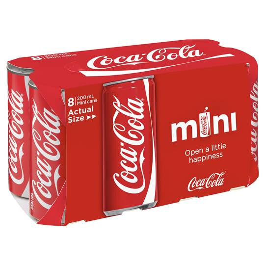 Coca Cola Mini Can