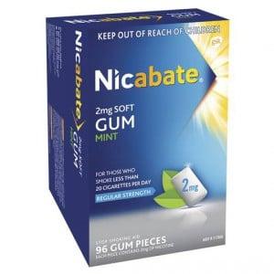 Nicabate Quit Smoking Gum 2mg