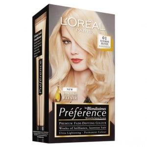 L'oreal Preference 1 Superior Blonde Platinum