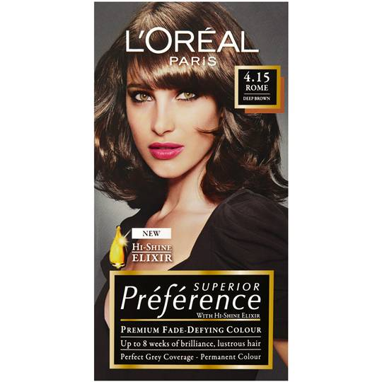 L'oreal Preference 4.15 Rome Deep Brown