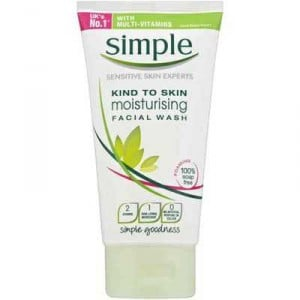 Simple Kind To Skin Facial Wash Moisturising