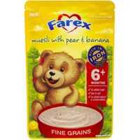 Farex Baby Food 6 Months Fruity Muesli