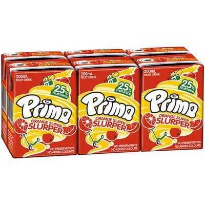 Prima Orange Fruit Drink