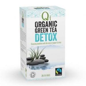 Qi Wellness Organic Detox Green Tea Bags