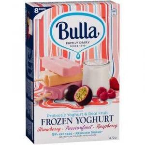 Bulla Frozen Yoghurt Strawb Passionfruit Rasp
