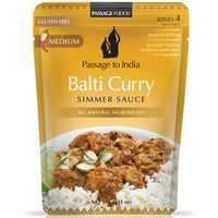Passage To India Simmer Sauce Curry Balti