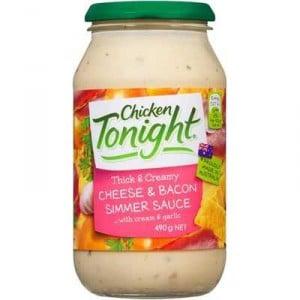 Continental Simmer Sauce Creamy Cheese & Bacon