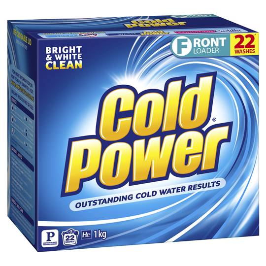 Cold Power Ultra Laundry Powder Front Loader