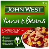 John West Tuna With Roast Capsicum & 3 Beans