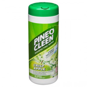 Pine O Cleen Kitchen Cleaner Wipes Disinfectant Green Apple