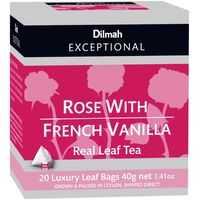 Dilmah Rose & French Vanilla Tea Bags