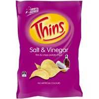 Thins Chips Share Pack Salt & Vinegar