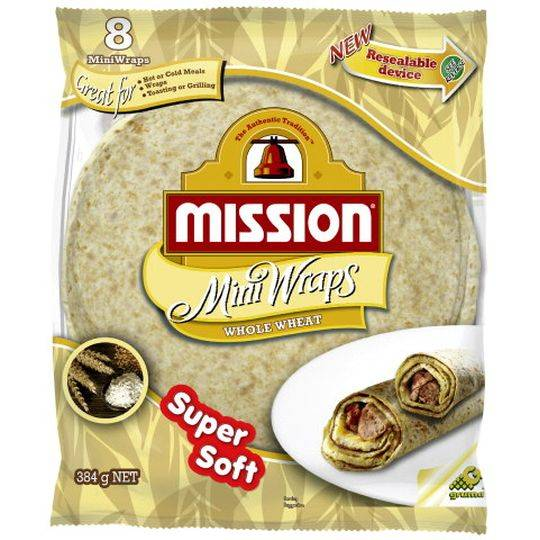 Mission Wraps Mini Wheat