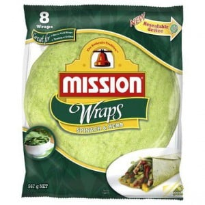 Mission Wraps Spinach & Herb