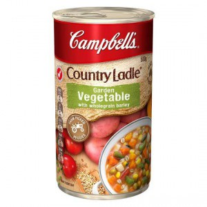 Campbell's Country Ladle Canned Soup Garden Veg & W/grain Barley
