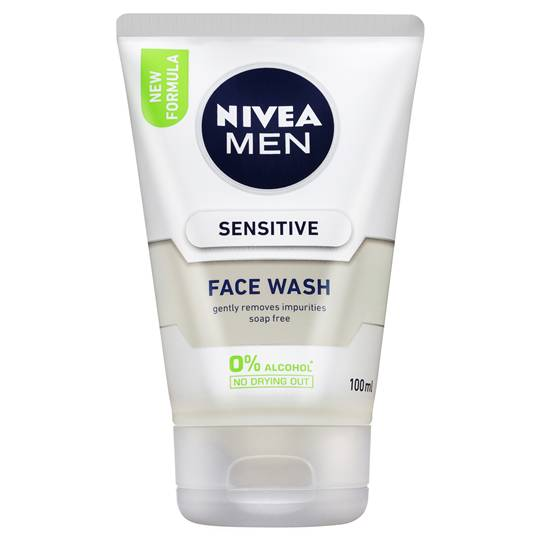 Nivea For Men Face Care Sensitive Wash