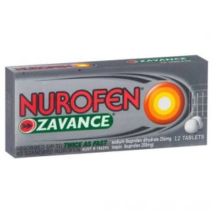Nurofen Tablets Zavance