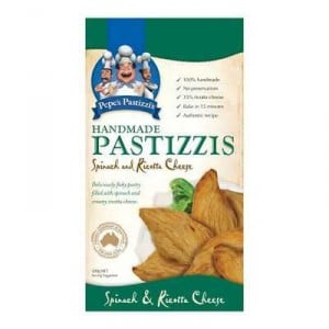 Chef Pepe's Pastizzis Cheese & Spinach