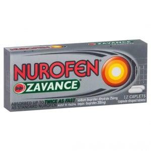Nurofen Caplets Zavance