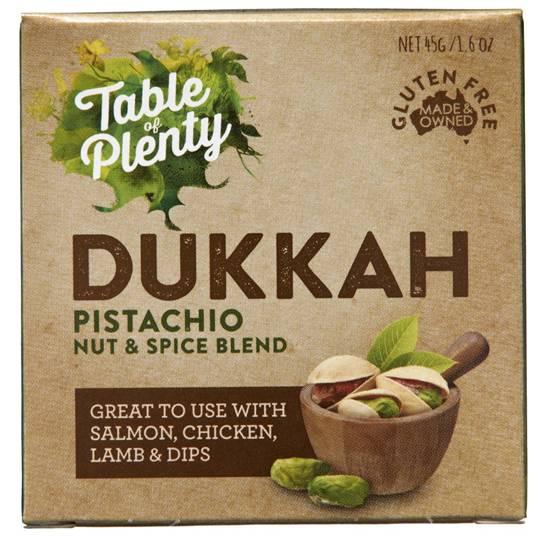 Table Of Plenty Dried Spices Dukkah Pistachio