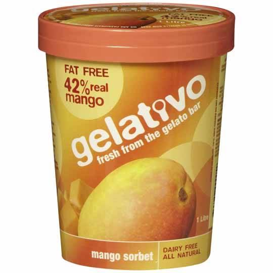 Gelativo Sorbet Mango