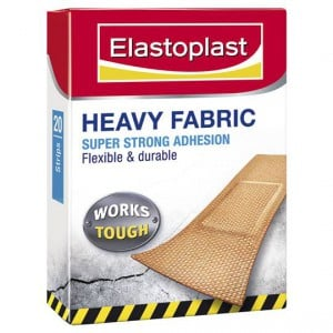 Elastoplast Fabric Strips Heavy Duty