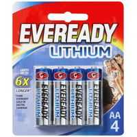 Eveready Lithium Aa Batteries