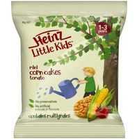 Heinz Little Kids Snack Mini Tomato Corn Cakes 1-3 Yrs