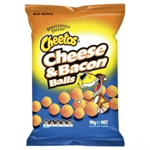 Cheetos Single Pack Cheese & Bacon Balls
