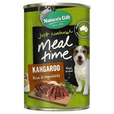Nature's Gift Adult Dog Food Kangaroo Rice & Vegetable