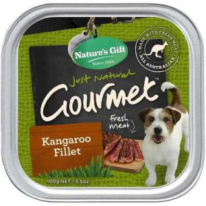 Nature's Gift Adult Dog Food Kangaroo Fillet